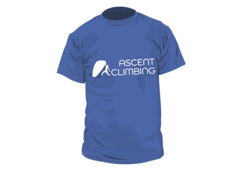Ascent Climbing Shirt with Logo Design
