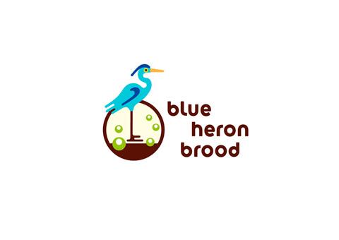 Blue Heron Brood Logo