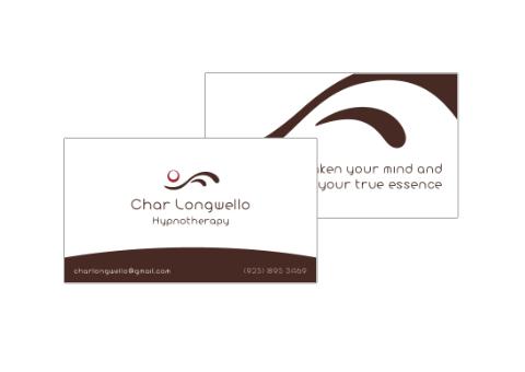 Char Longwello Business Card Design