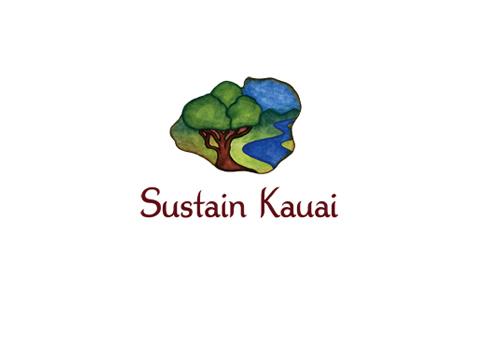 Sustain Kauai Painted Logo