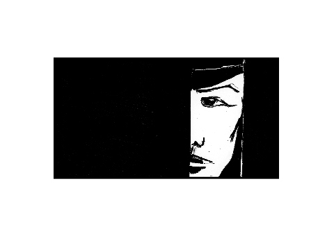 The Lonely Storyboard Illustration