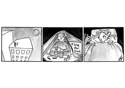 Metalepsy Comic Strip