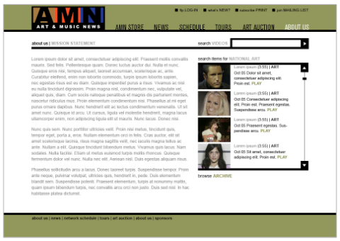 Bay Area Art and Music News Website
