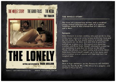 The Lonely Film Website Design