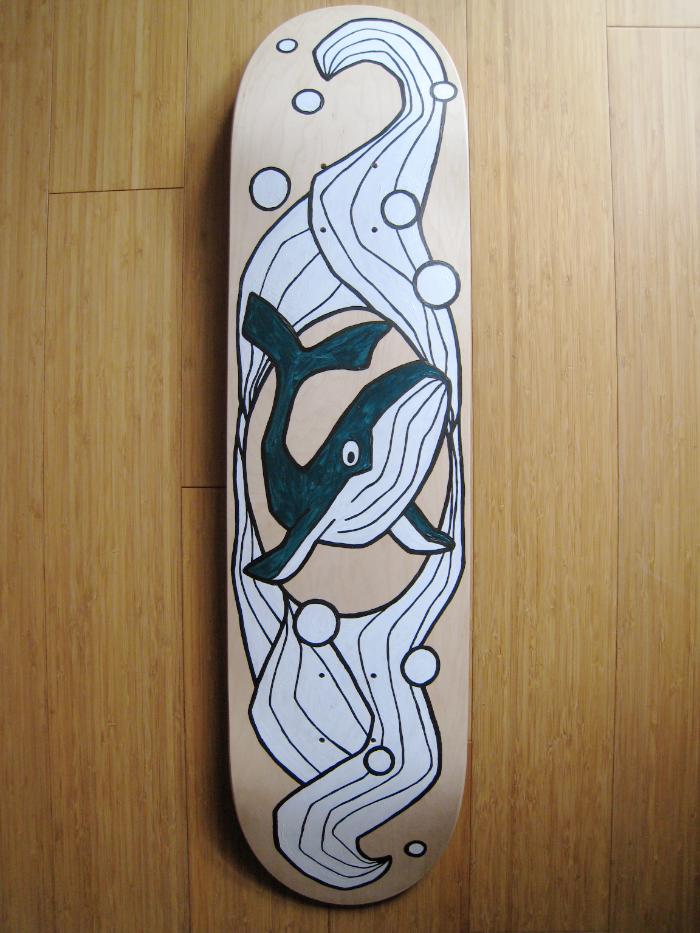 Sibylle Dorr Skateboard 2