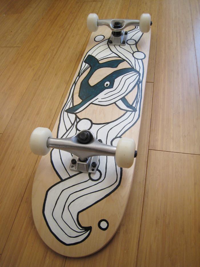 Sibylle Dorr Skateboard 3