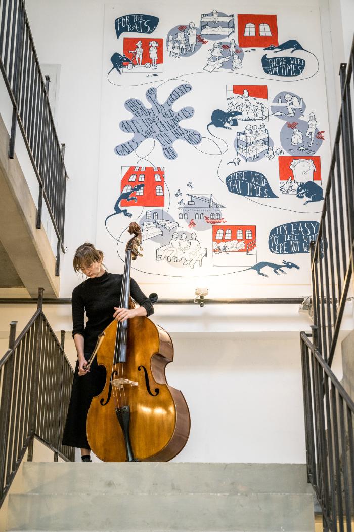 fux Treppenhaus Gestaltung Sibylle Dorr