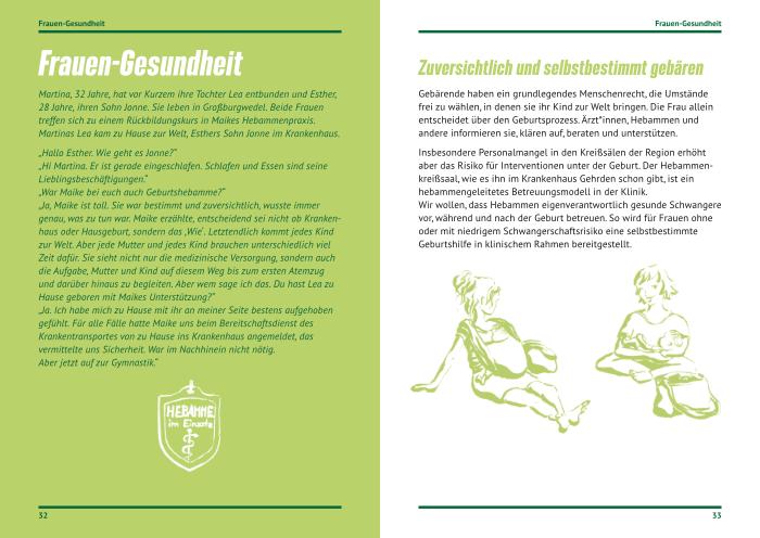 Sibylle Dorr Die Grünen Hannover Wahlprogramm 4